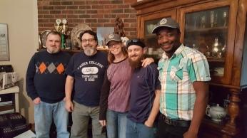 The Gentile, The Jew, Megan, TJ, Dion