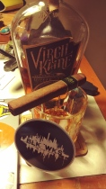 Virgil Kaine? Black Label Cigars from Top Leaf Cigar Lounge? Two sponsors in one pic!